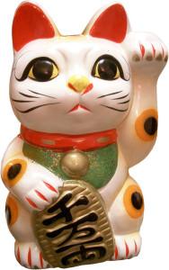 Maneki Neko: de gelukskat uit Japan