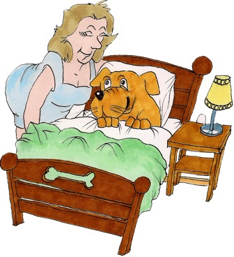ziek slaap lekker